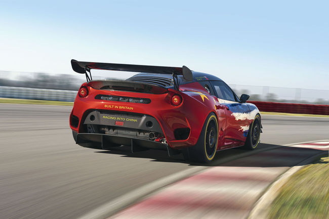 Shanghai : Lotus Evora GT4 Concept