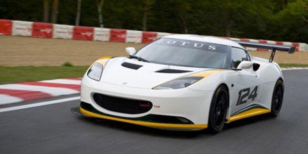 Lotus présente l'Evora Cup