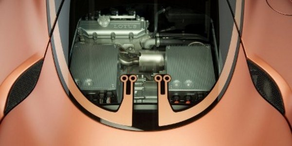 Genève : Lotus Evora 414 E Hybride