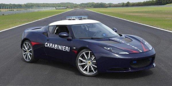 Deux Lotus Evora S pour les Carabinieri