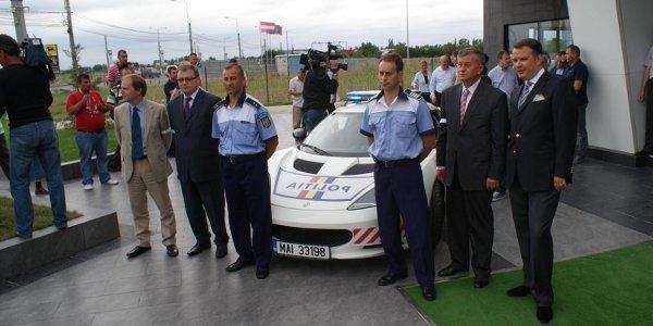 Une Evora S livrée à la Police roumaine