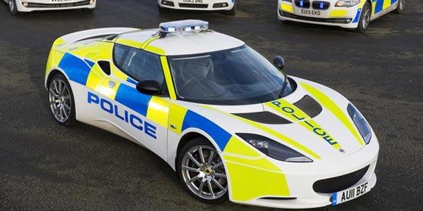 Une Lotus Evora pour la police anglaise
