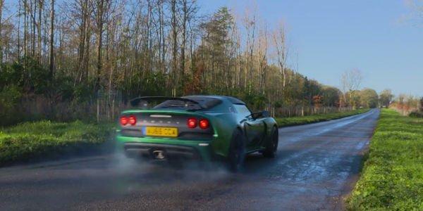 La Lotus Exige Sport 350 en action