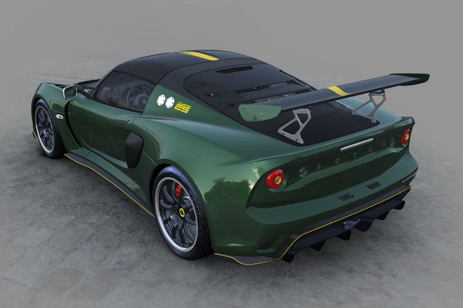 Lotus Exige Cup 430 Type 25 : collector
