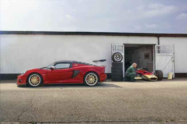 One-off Lotus Exige Celebration Type 49 et 79