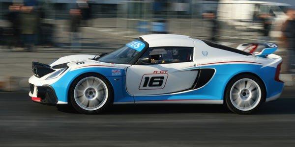 Premier shakedown pour l'Exige R-GT