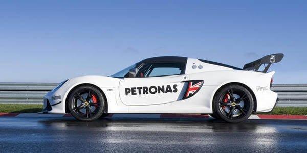 La Lotus Exige S rejoint la piste