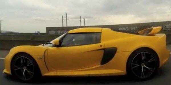 La Lotus Exige S en cabriolet