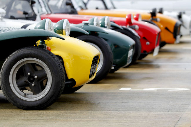 La Lotus Seven fêtée à Silverstone Classic