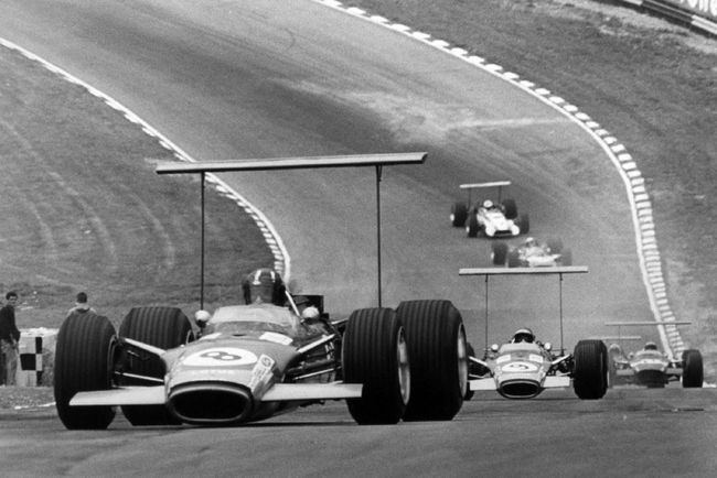 Les Lotus 49 de Grands Prix s'exposent à Birmingham