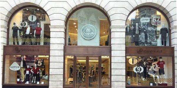 Lotus ouvre une boutique de vêtements