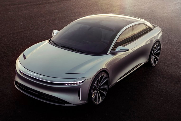 La Lucid Air sera accessible à partir de 52 500 dollars