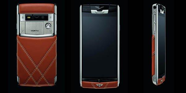 Le smartphone Vertu by Bentley est arrivé