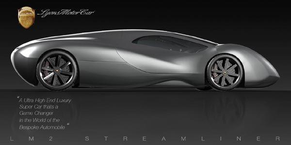 Lyons Motor Car dévoile son LM 2 Streamliner