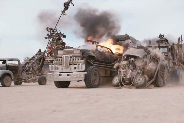 Les spectaculaires cascades de Mad Max Fury Road sans trucage