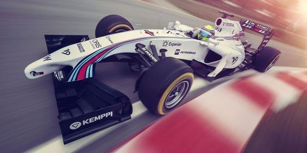 Martini revient en F1 avec Williams