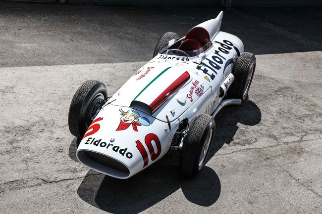 Maserati fête le 60ème anniversaire de la monoplace Eldorado