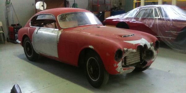 Touring restaure une Maserati A6G de 1953