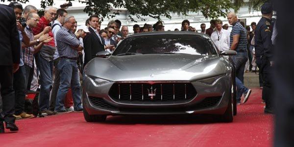 Le concept Maserati Alfieri à la Villa d'Este