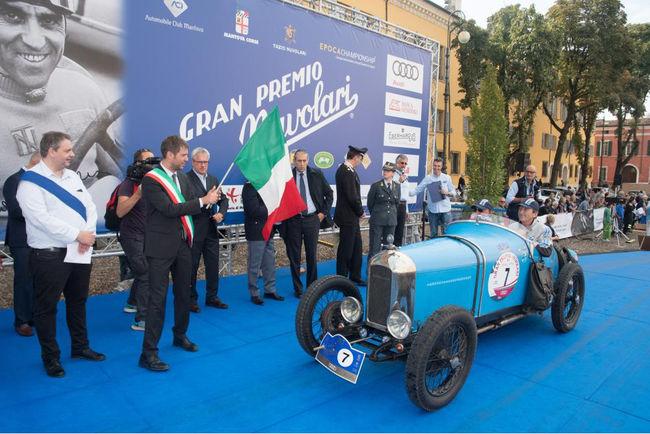 Maserati partenaire du Gran Premio Nuvolari 2018