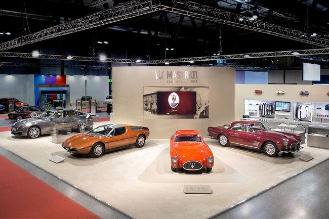 Maserati au Salon Milano AutoClassica
