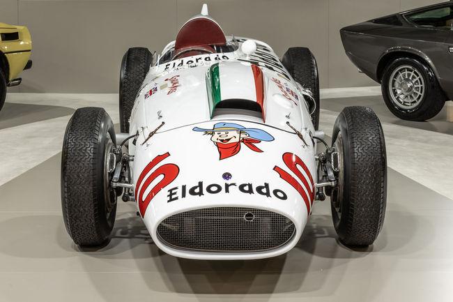 Beau plateau pour Maserati à Padoue