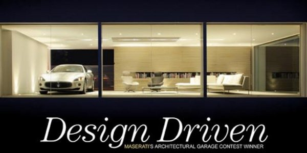 Garage Design Contest By Maserati: Automobile Et Design, Maserati Garage