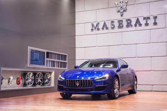 Francfort 2017 : Maserati Ghibli GranLusso et GrandSport