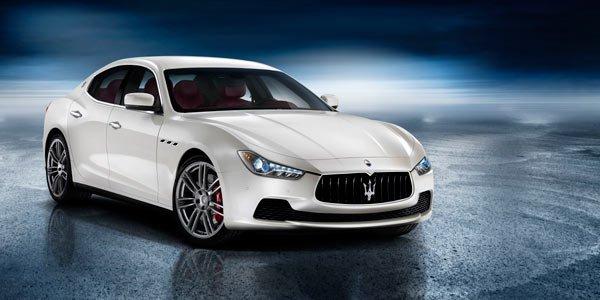 La Maserati Ghibli dévoilée