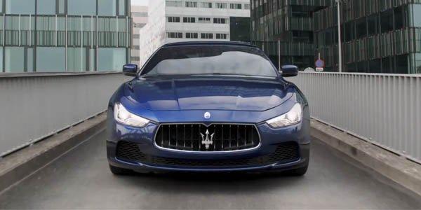 Pause réclame pour la Maserati Ghibli