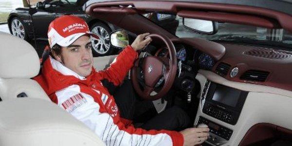 F. Alonso en Maserati