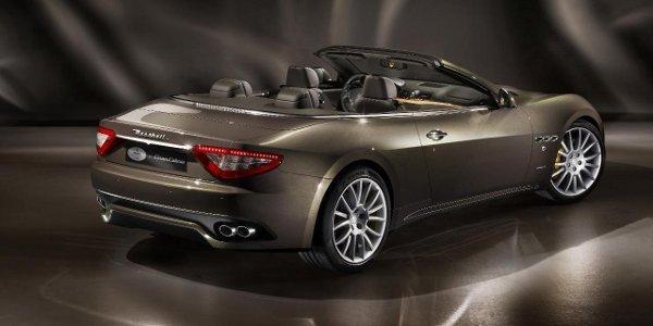 Francfort: Maserati GranCabrio Fendi