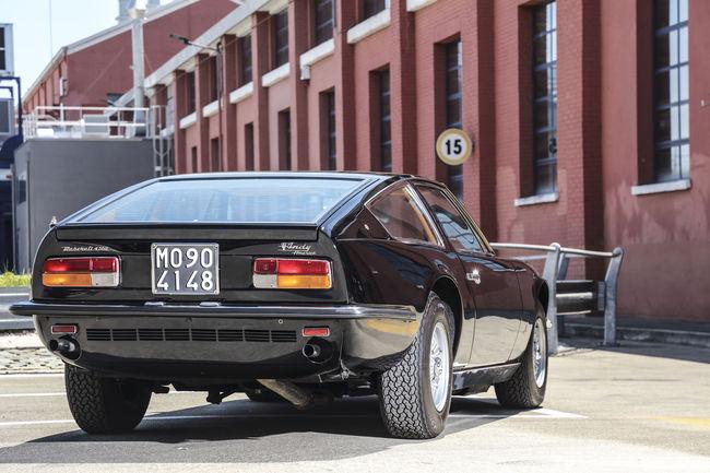 Maserati fête les 50 ans du premier Coupé Indy
