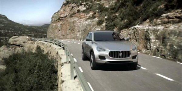 Maserati Kubang, la vidéo officielle