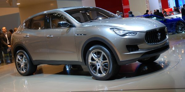 Le SUV Maserati nommé Cinqueporte?
