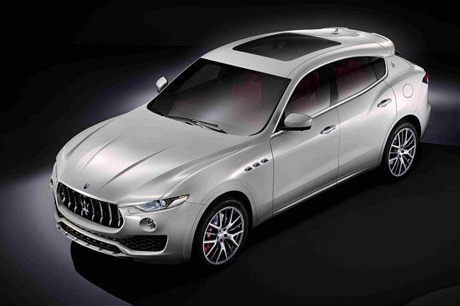 Maserati Levante : comme ça
