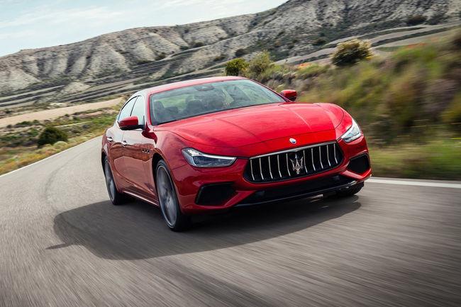 Maserati confirme son programme d'électrification