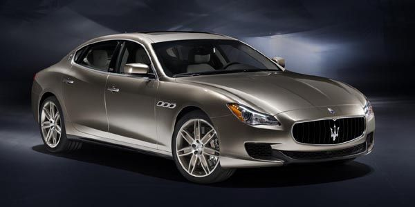 La Maserati Quattroporte Zegna Edition en tournée
