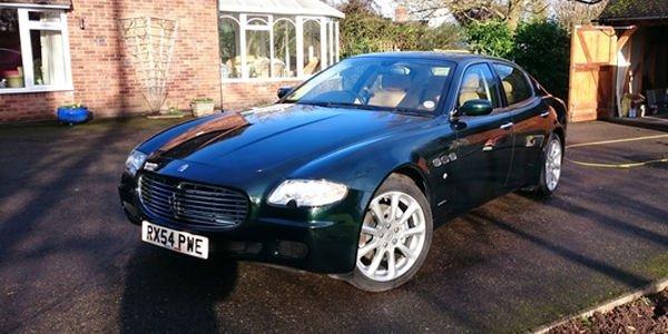 Une Maserati Quattroporte ex-Elton John aux enchères