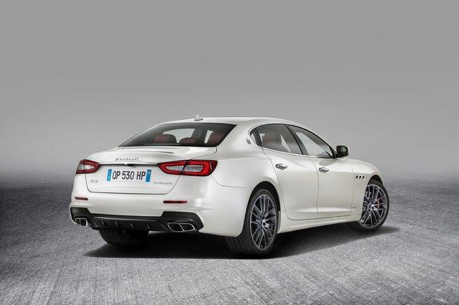 La Maserati Quattroporte s'offre un restylage