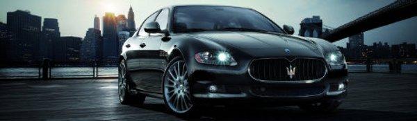 La Maserati Quattroporte GT S à Detroit