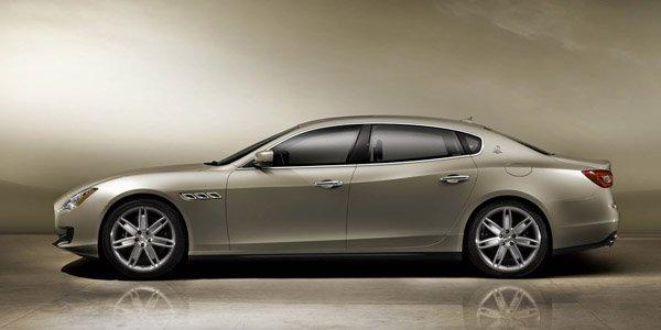 Officiel : Maserati Quattroporte 2013