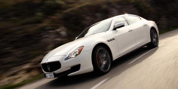 Maserati réinvente sa Quattroporte