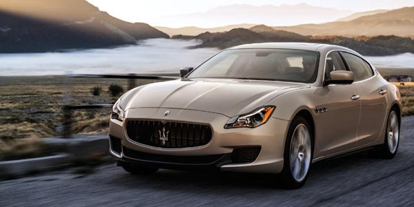 Maserati Quattroporte : les tarifs