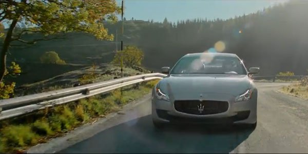 "Maserati Quattroporte ""fascination"" film"
