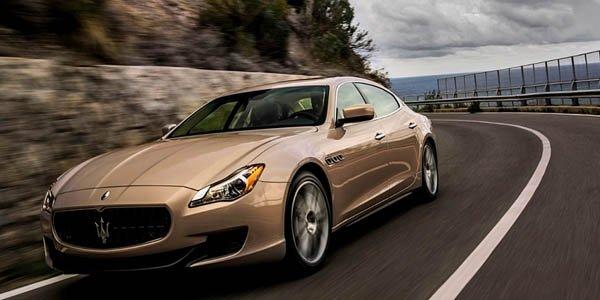 Une Maserati Quattroporte signée Zegna
