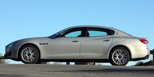 Hérésie : Maserati Quattroporte diesel