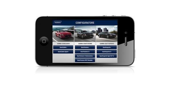 Maserati débarque sur iPhone et iPad
