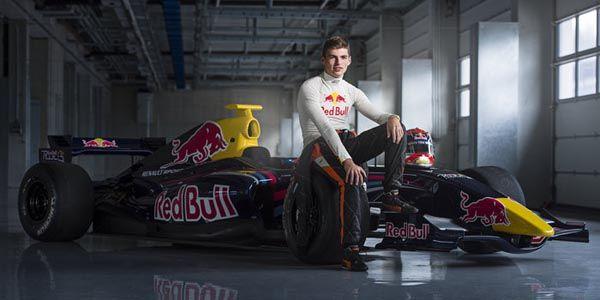 Max Verstappen casse sa première F1