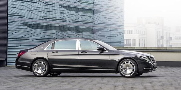 Nouvelle Mercedes-Maybach S600
